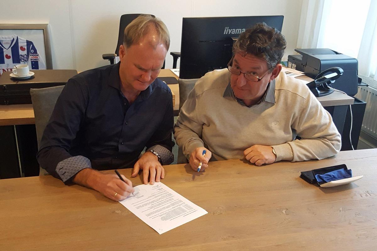 Boornbergum ondertekend