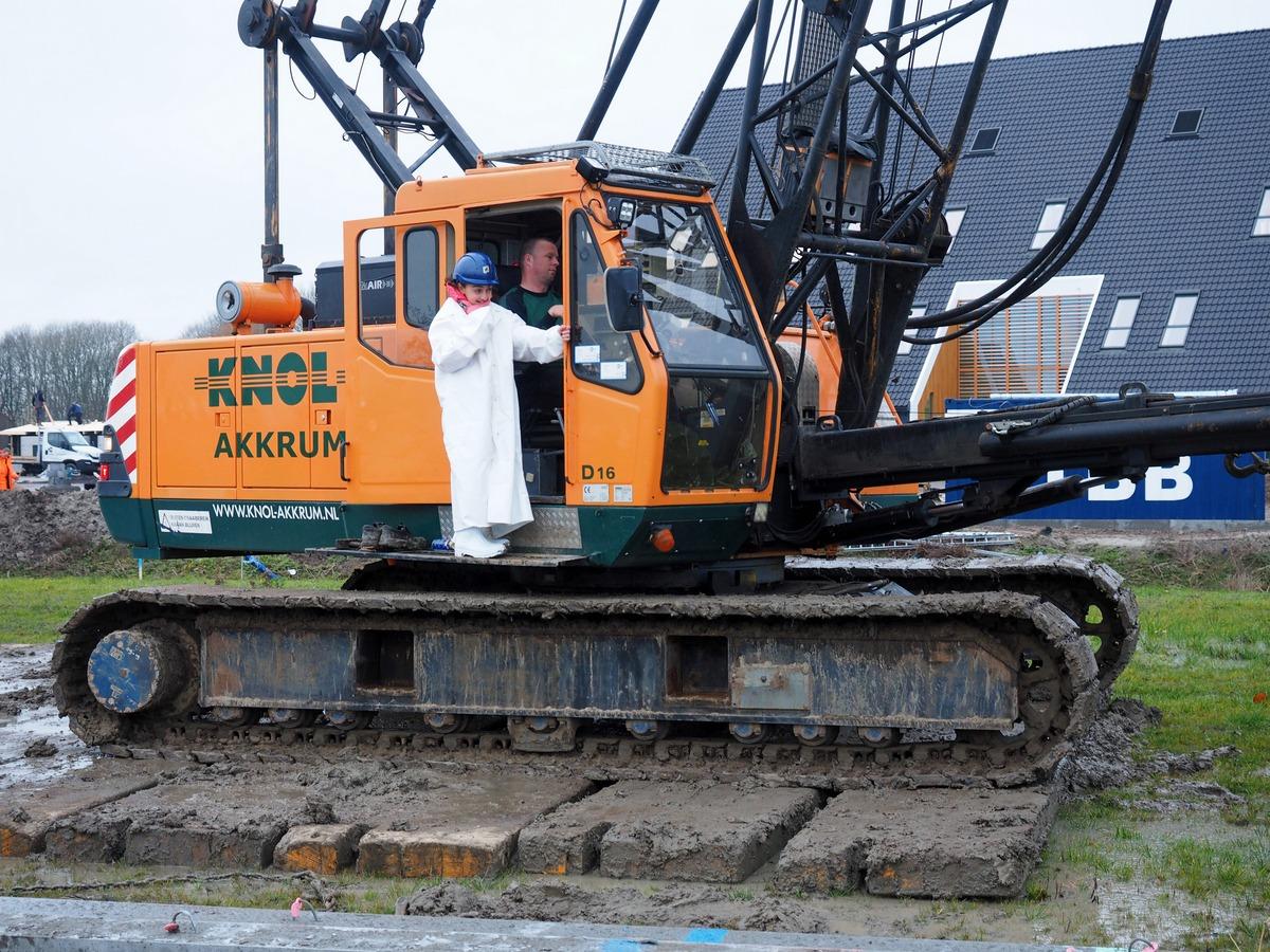 Start bouw De Wylp Leeuwarden