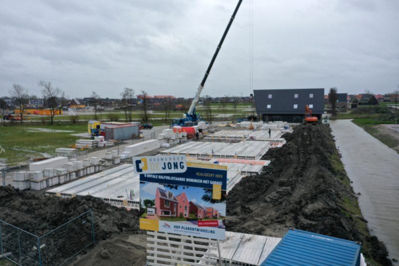Voortgang bouw De Wylp Leeuwarden
