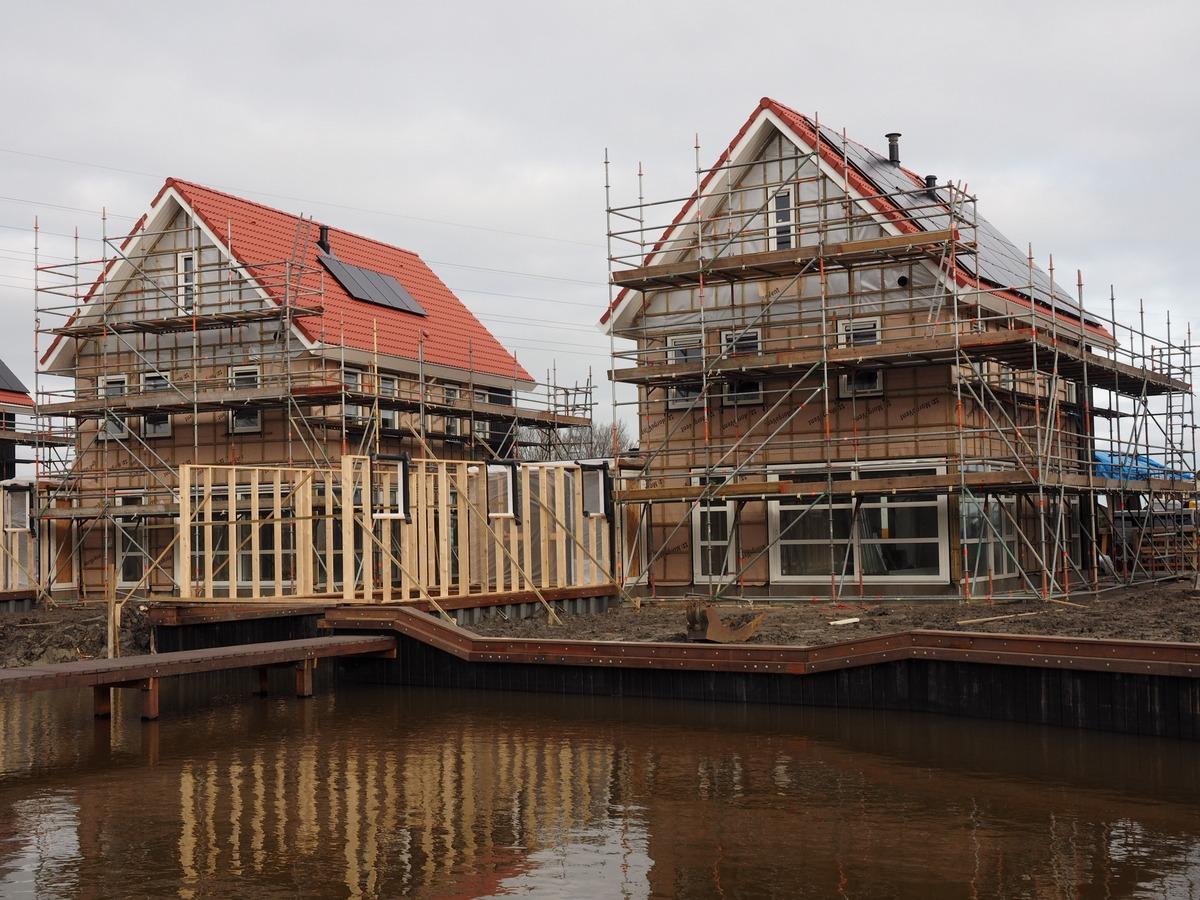 Voortgang bouw Harinxmaland Sneek 5