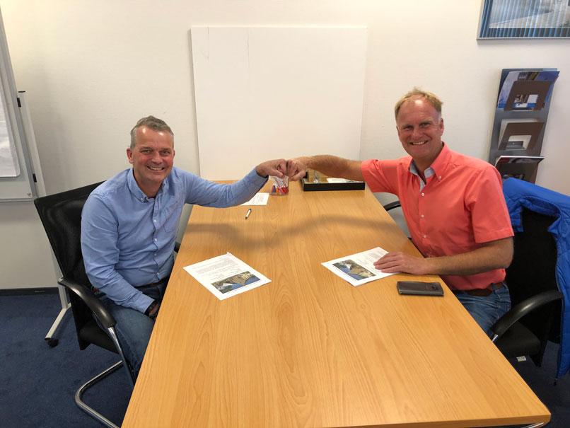 Ondertekening overeenkomst Harinxmaland
